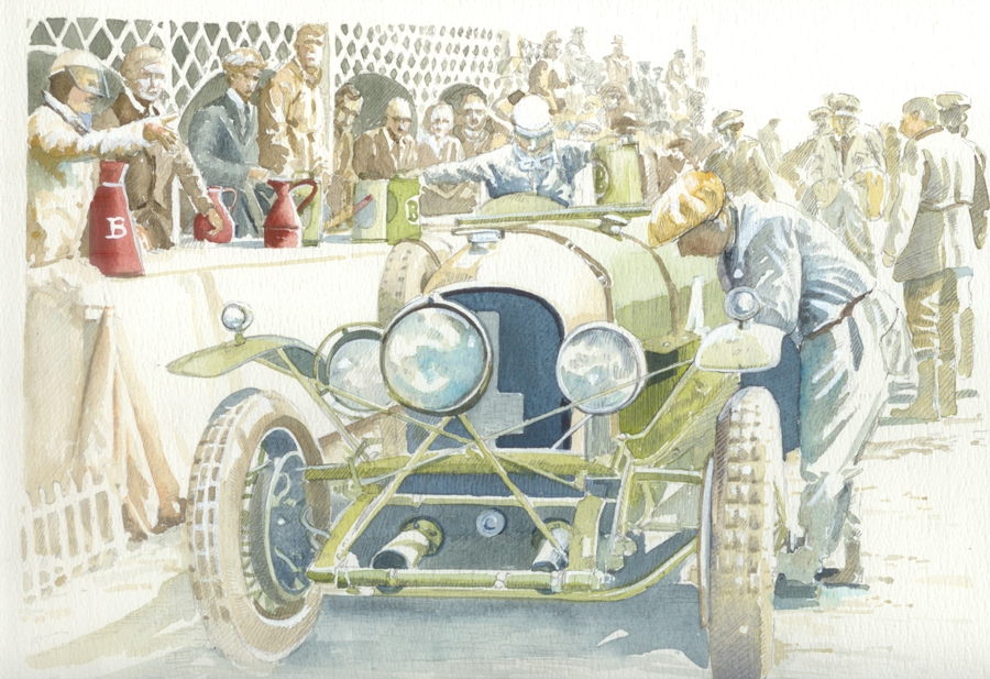 14 - 4.5 litre Bentley at Le Mans 1928_full