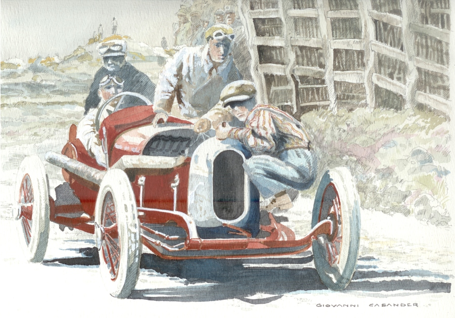 19. Targa Florio 1924 The last test run_full