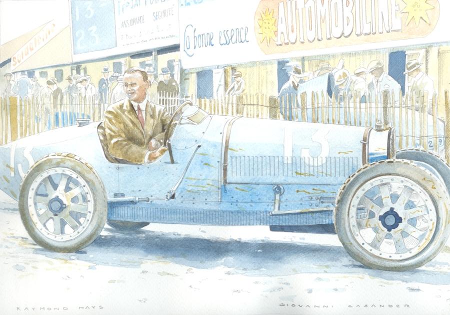 34. Bugatti type 35