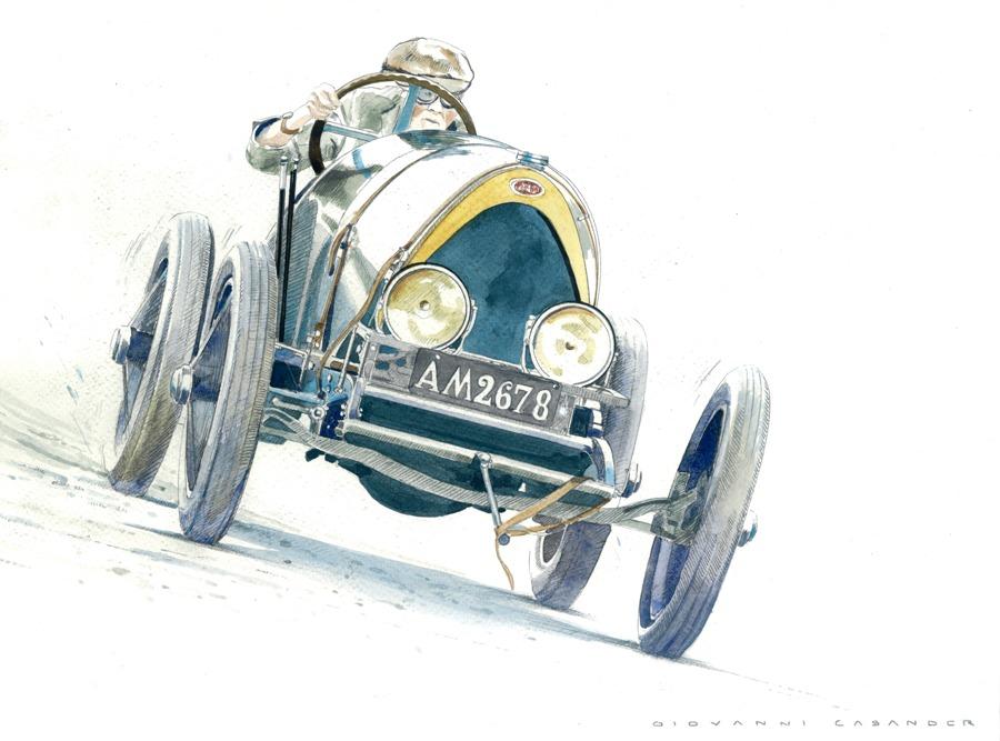 38. Bugatti 18 Grand Prix