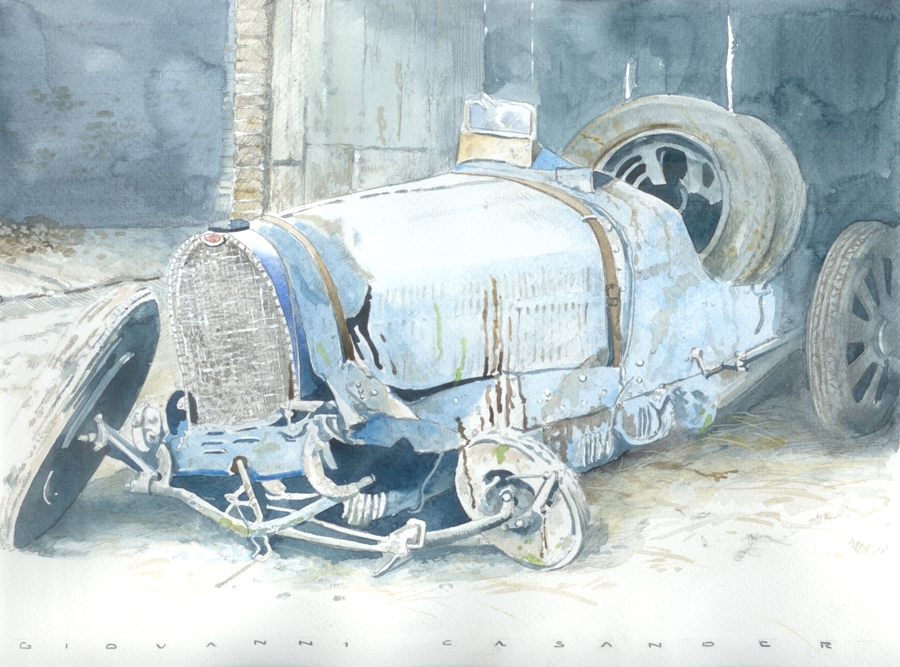 43. rare Bugatti found
